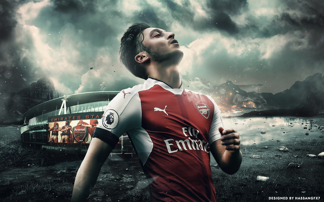 Mesut Ozil Desktop Wallpaper 2016/17 By HassanGFX7 On