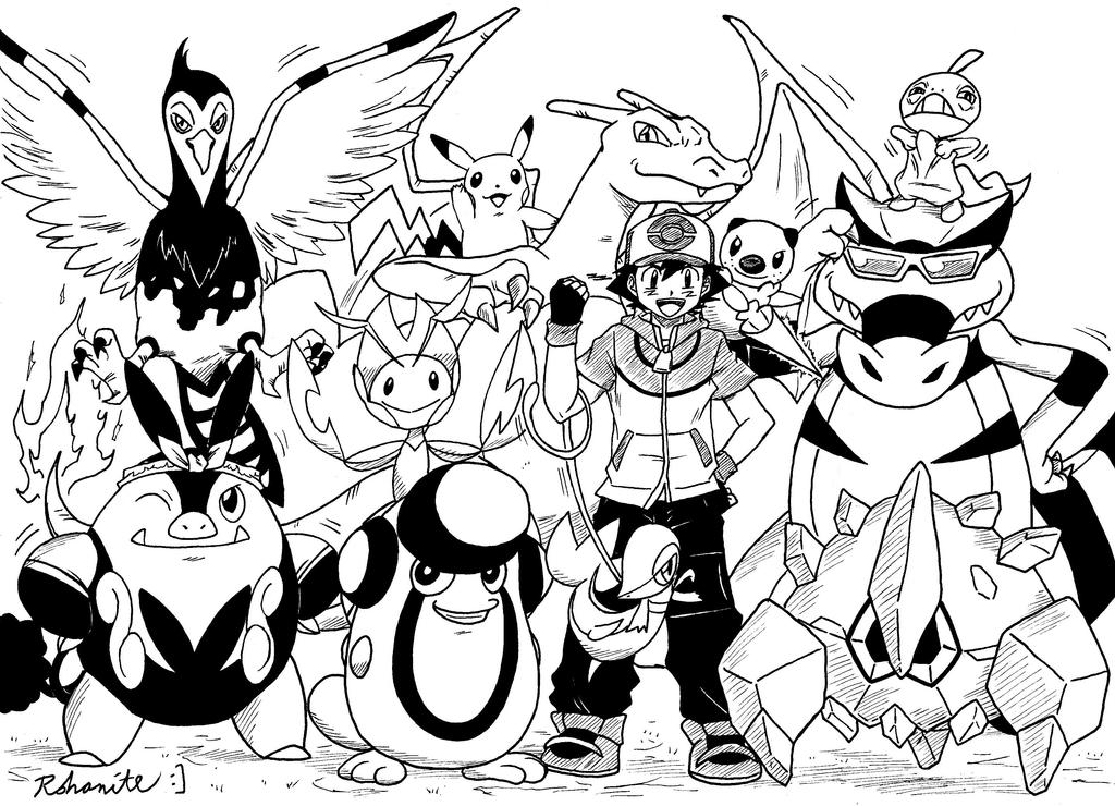 Ash Final Best Wishes Team By Rohanite