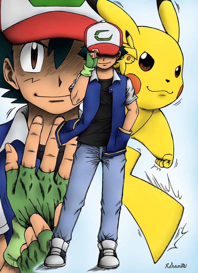 Pokemon Anime 20th Anniversary by Rohanite