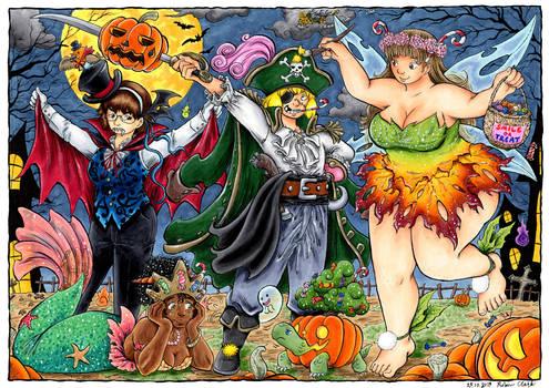 Dandelion Halloween