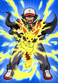 Ash-Pikachu