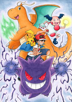 Ash Ketchum World Championship team