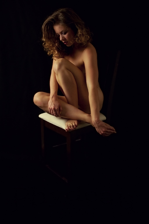 Rebecca:  Nude Portrait 02 by phydeau