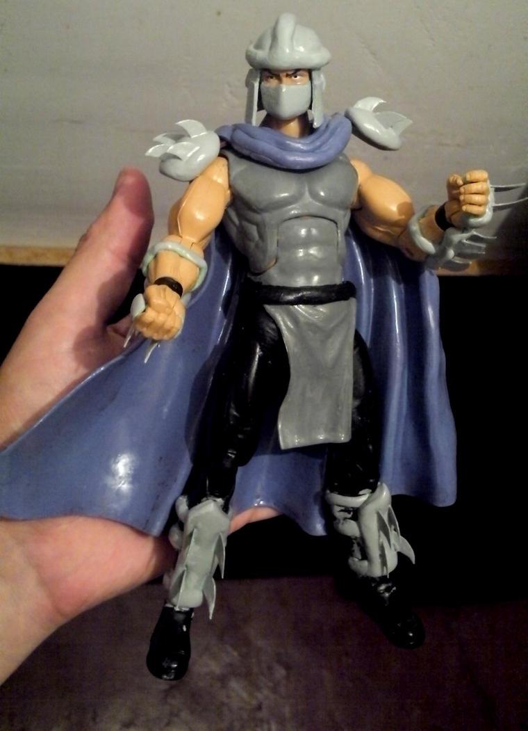 the shredder custom figure by myroboto