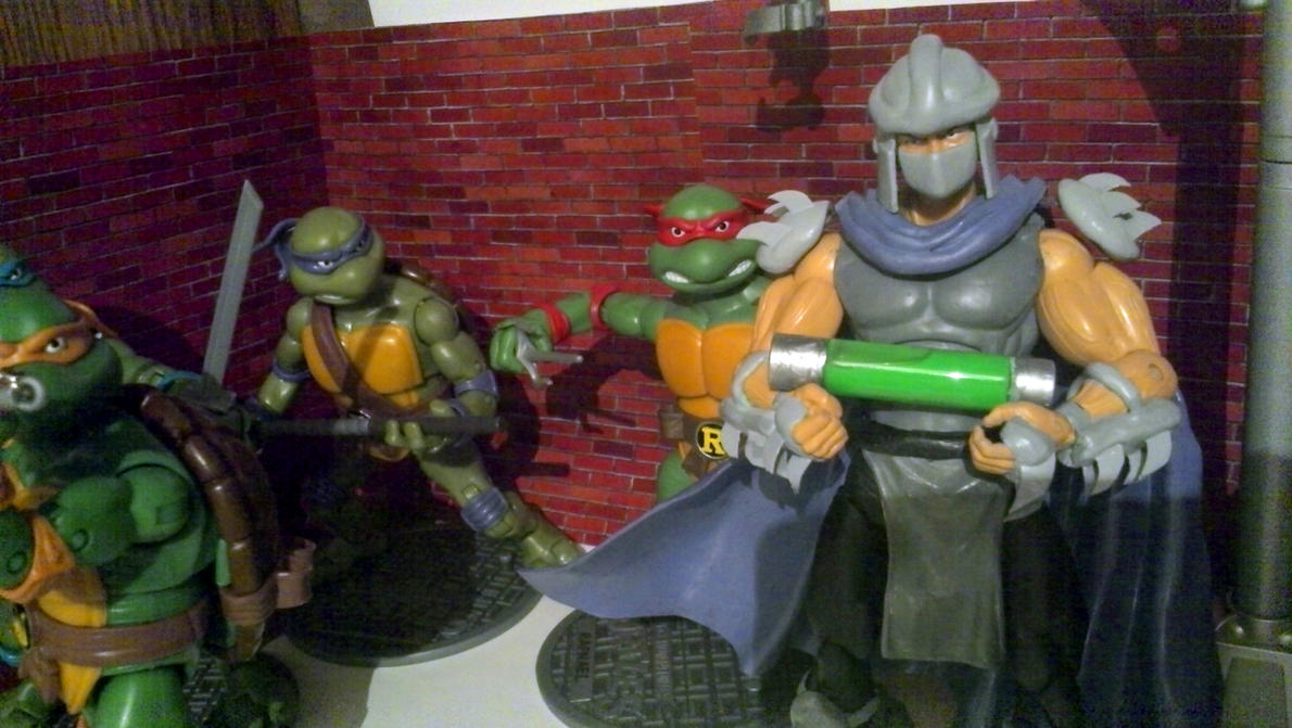 shredder and the ooze by myroboto