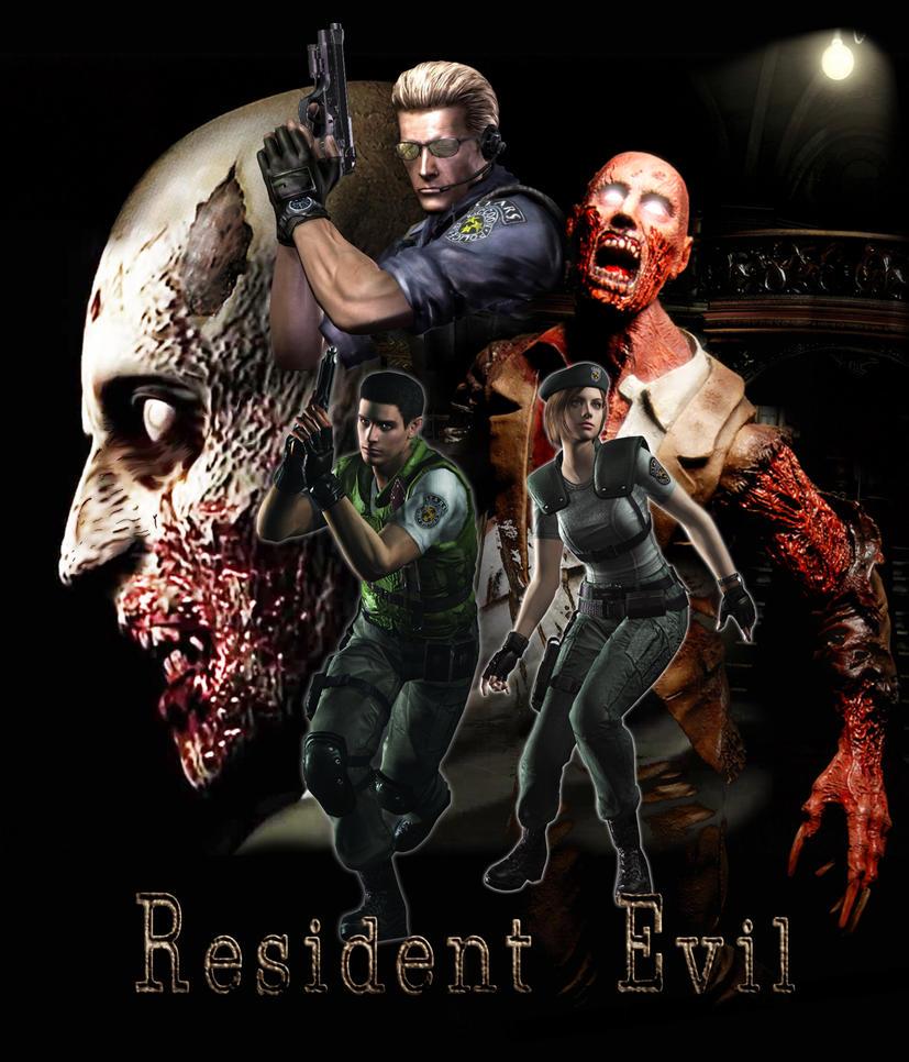 resident evil t shirt by myroboto