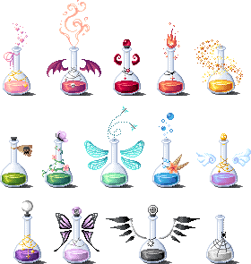 Pixel Potions set 2 by LinaIvelle