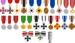 Commission: Medals by LinaIvelle