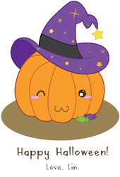 Vector: Witchy Pumpkin