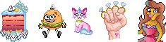 Pixel: Misc. Icons Commissions by LinaIvelle