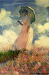 C Monet-Woman with a Parasol