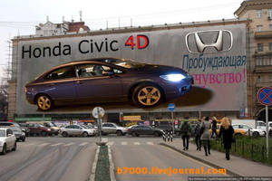 Honda Civic 4D by b7000