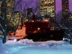 Icebreaker 'Arctica' in Central Park NY