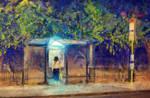 night  bus stop