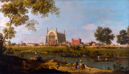 Canaletto---Eton-College by b7000