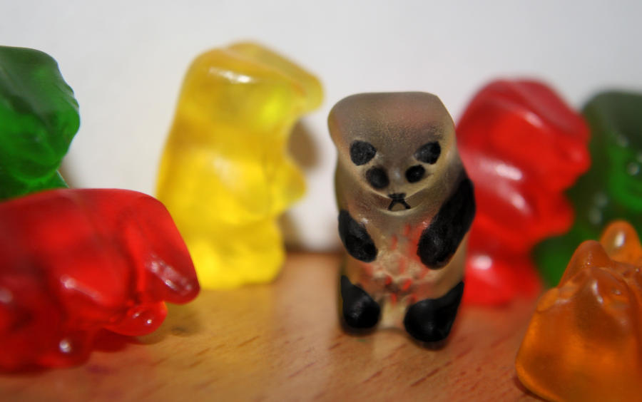 January 21 - Gummy Panda by hannahpanda