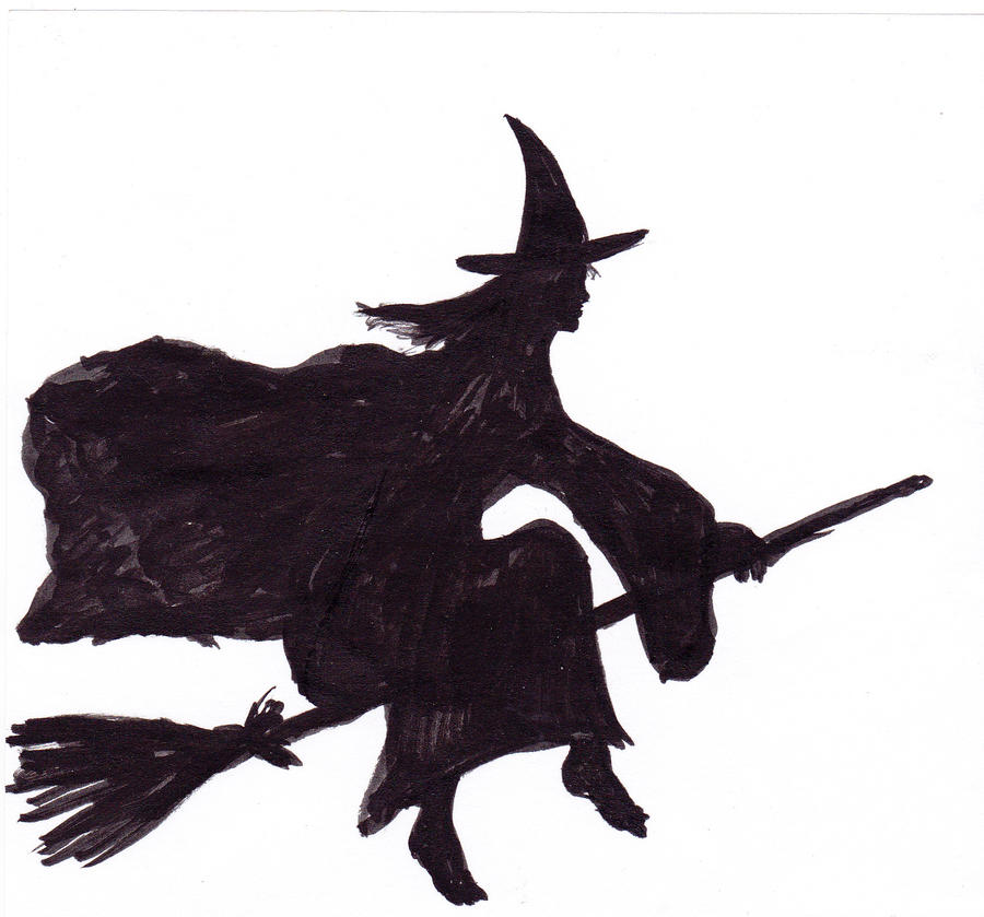 FRAGANCIAS CON OLOR A AZUFRE - Página 4 Witch_on_a_broomstick_by_baldpagan-d4sjyu4