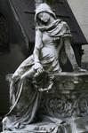 Cemetery lady