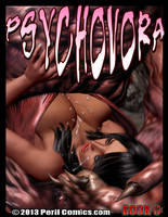 PSYCHOVORA Book 6 On Sale Now! by PerilComics