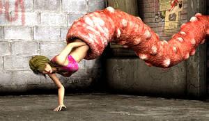 Eaten By Worm Beast! by PerilComics