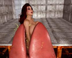 Another Trap Door: Vorathon Girl 3 by PerilComics