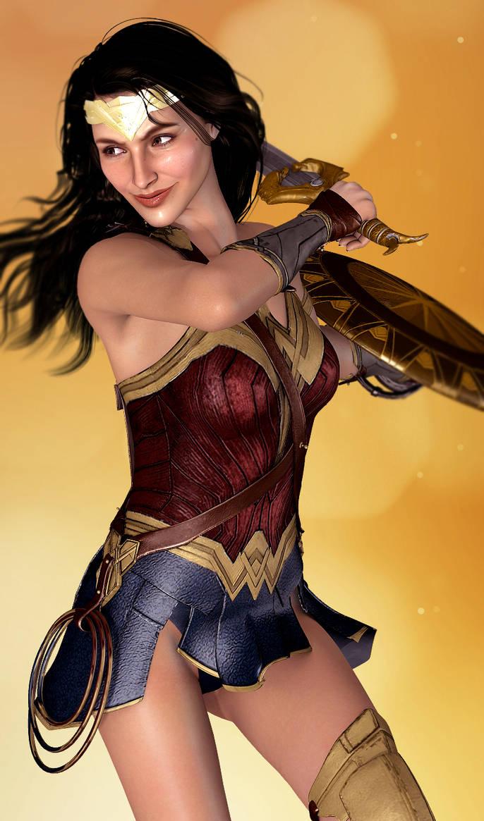 Wonder Woman Render by PerilComics