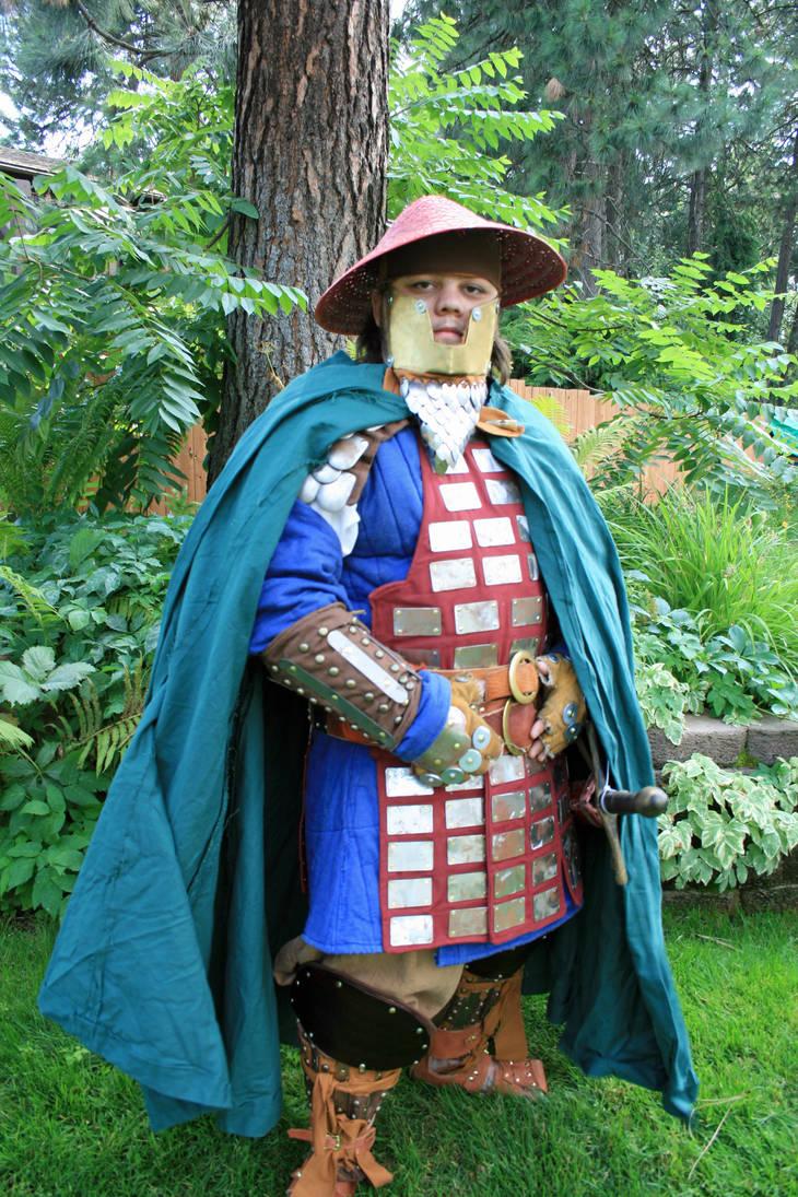 Dwarven Samurai Pose 1