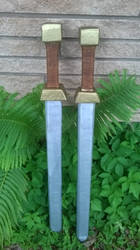 Plasti-Dip Foam Swords