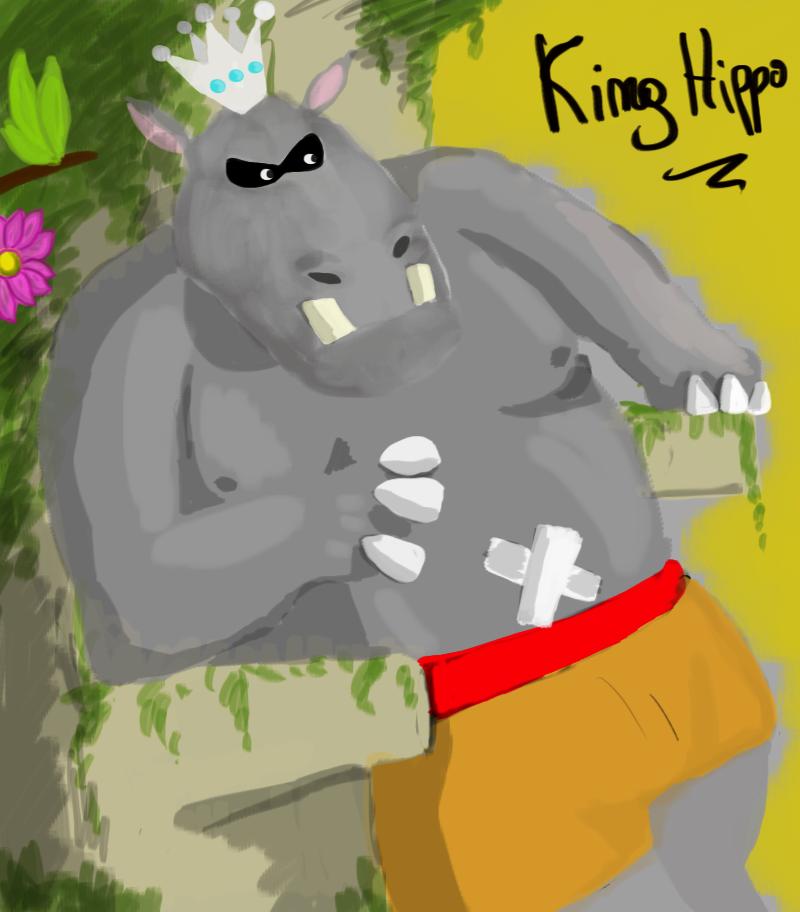 Evolucionando en digital y randoms más [ByXhaps] - Página 2 King_hippo___hippo______by_drraaggoon-d5vw1fm