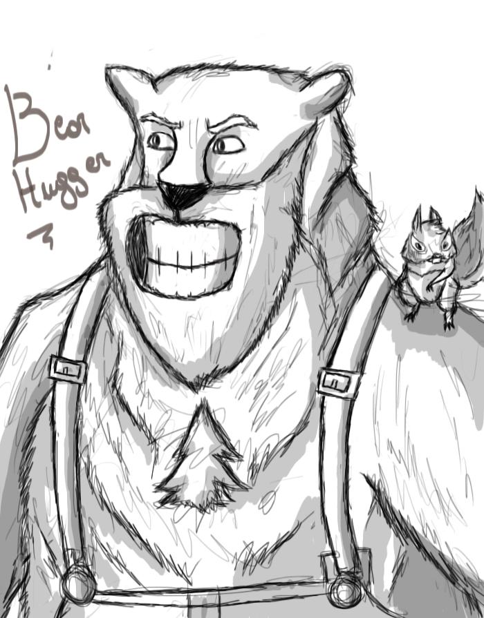 Evolucionando en digital y randoms más [ByXhaps] Bear_hugger__bear__by_drraaggoon-d5w4u0z