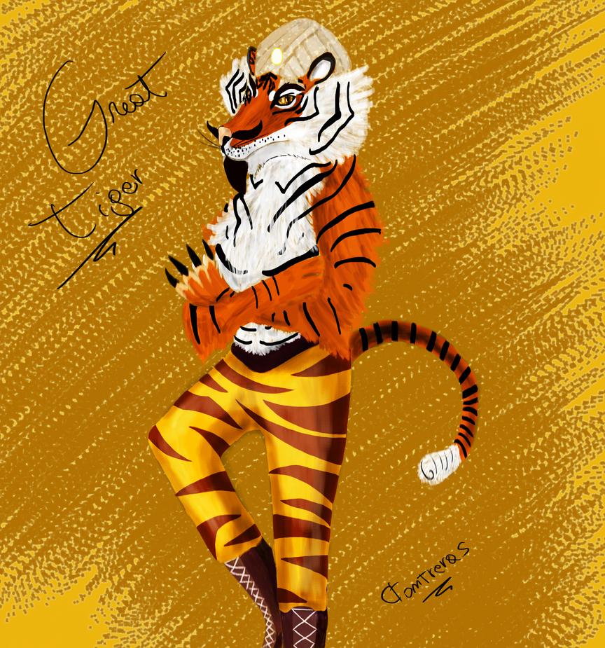 Evolucionando en digital y randoms más [ByXhaps] Great_tiger__tiger__by_drraaggoon-d5wgj1l