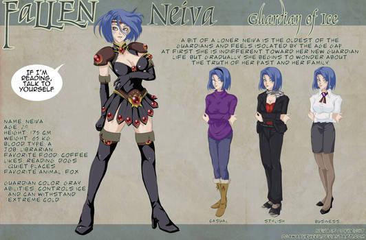 NEIVA Character Design Sheet