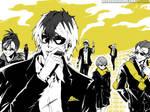 Here Come The Boys In Black by OgawaBurukku