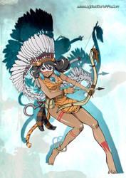Pirate Hunter Tiger Lily by OgawaBurukku
