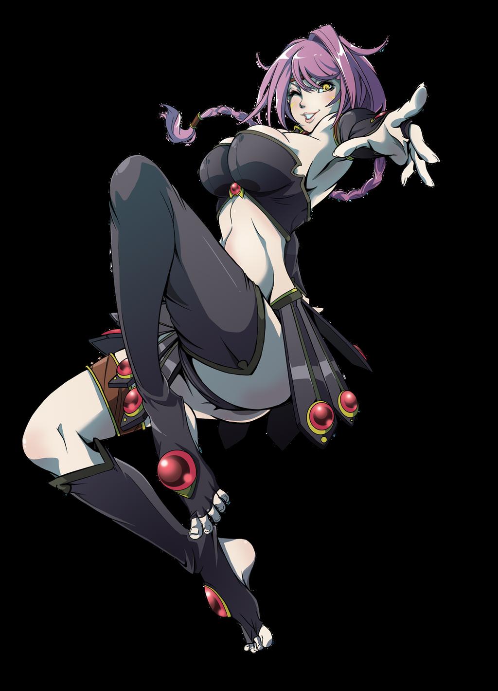 Lamia, Guardian Of Illusion by OgawaBurukku on DeviantArt