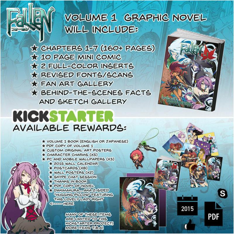 FaLLEN Vol. 1 Kickstarter Information by OgawaBurukku