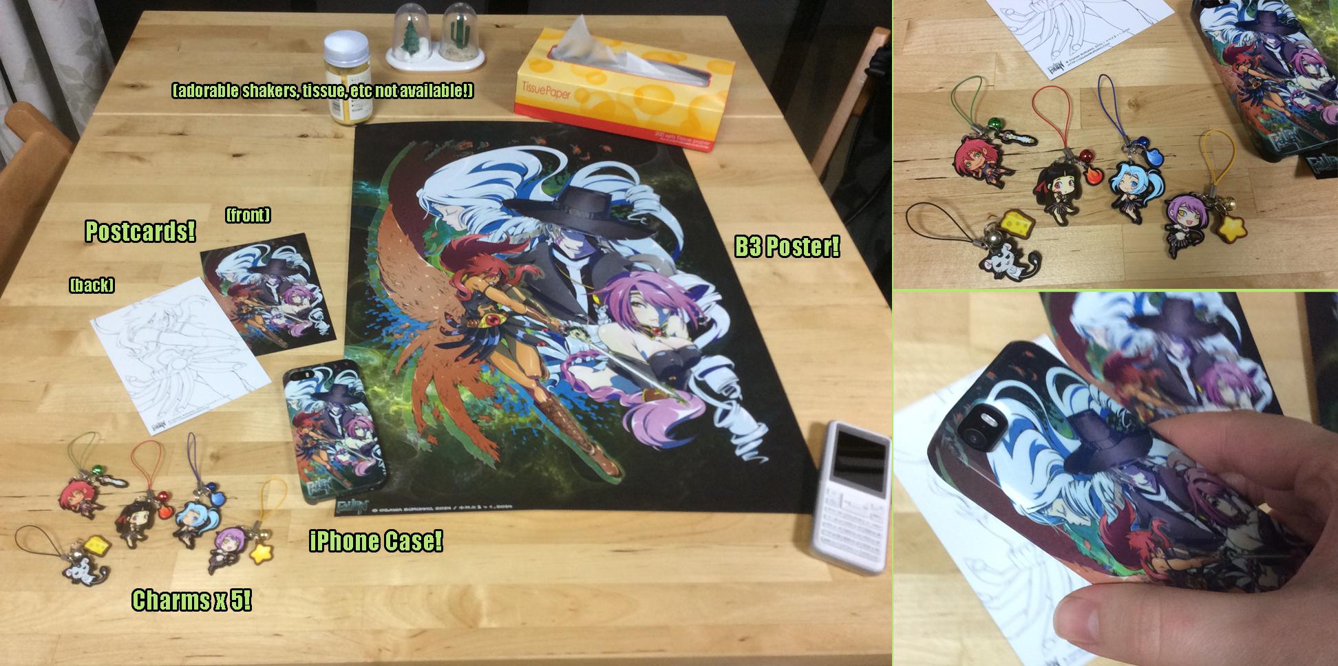 FaLLEN Goods for Kickstarter-- Final 60 Hours! by OgawaBurukku