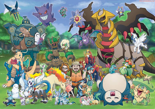Massive Pokemon Commission