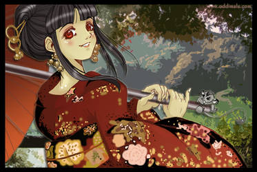 Pageant Of The Autumn Wind by OgawaBurukku
