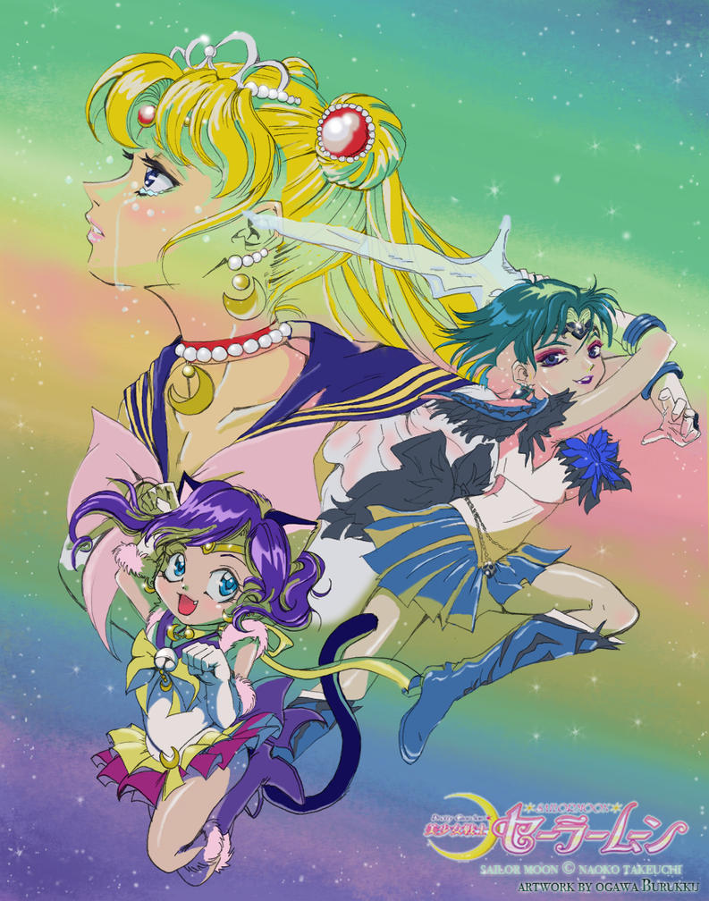 Pretty Guardian Sailor Moon by OgawaBurukku