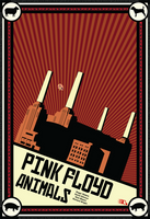 Pink floyd Animals Propaganda by GabeRios