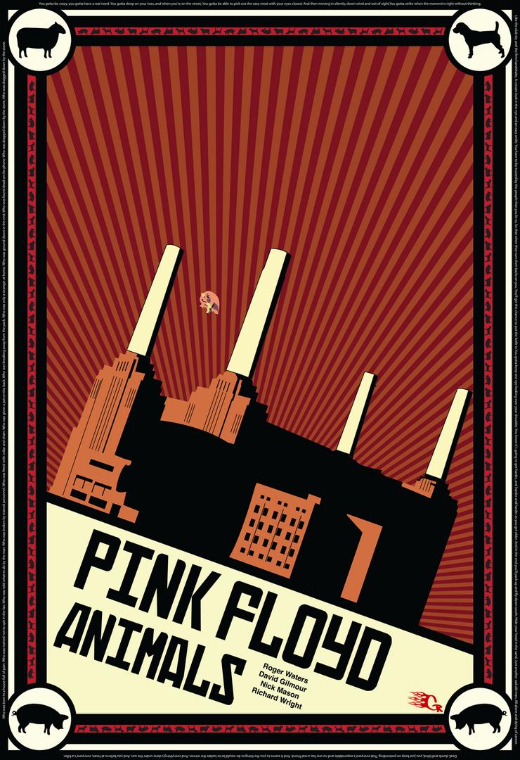 Pink floyd Animals Propaganda by GabeRios