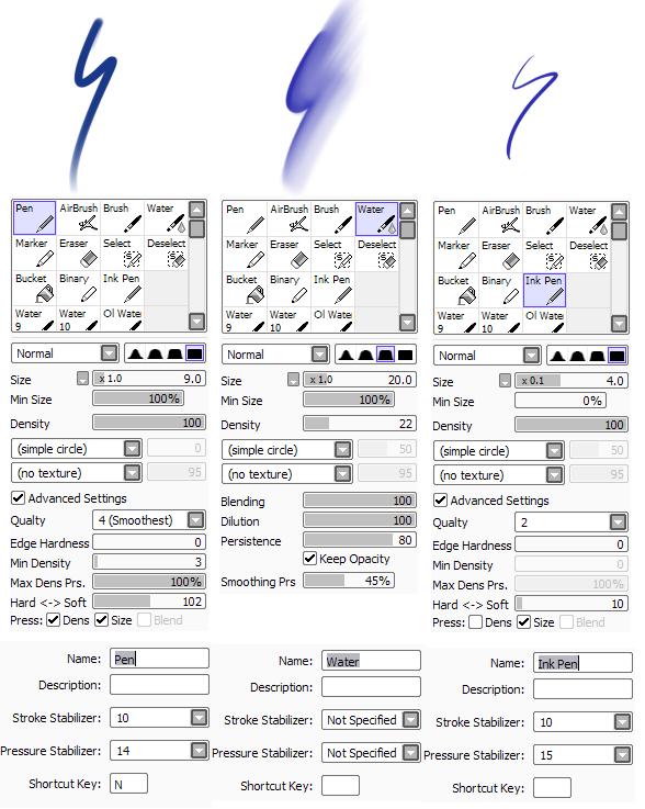 Paint Tool Sai Pen Brush - ebookinstalsea