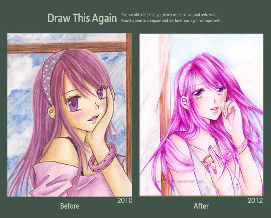 Draw This Again Contest: 2010 to 2012 by MizuuHime