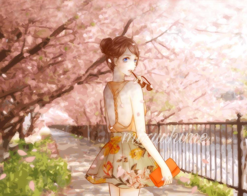 Cherry Blossom by MizuuHime