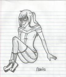 Nanita: Relaxing by CoraUchiha