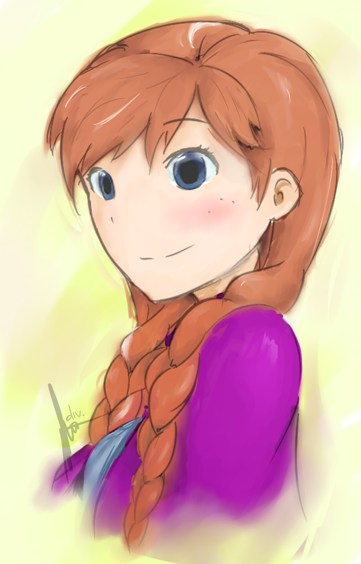 Princess Anna of Arendelle by DivYes