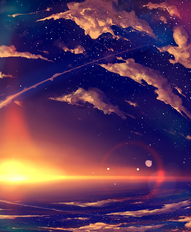 Sky Full of Stars by DivYes