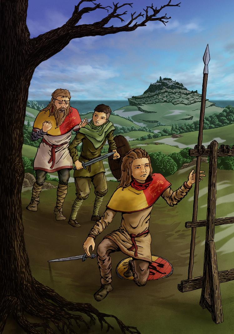 Prince Ludin - Defiance by Der-Winterfuchs