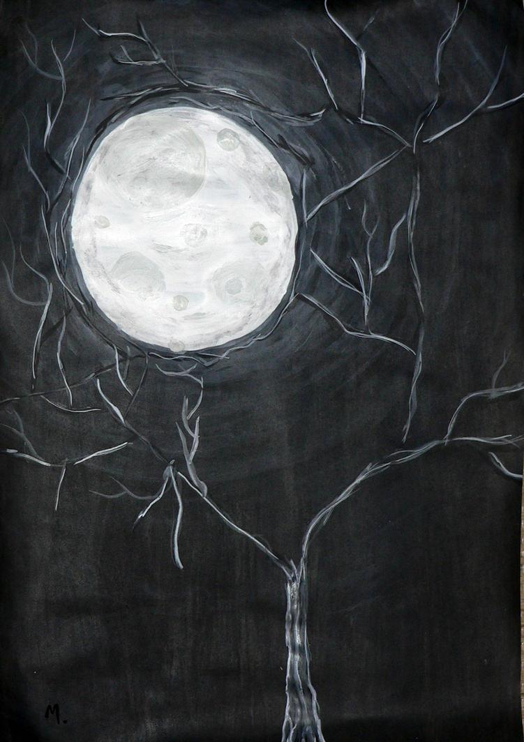 Full Moon by 7m-miku